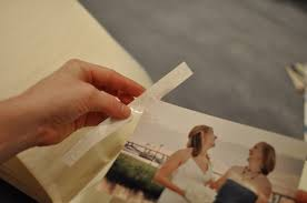 photo album pages sticky how to add photos to paper page albums the blue sky papers