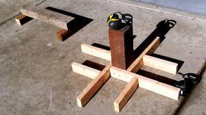building a backyard parkour park 1 making precision trainers
