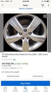 lexus ls 460 ugly wheels your honest opinion on refurbished lexus gs wheels clublexus
