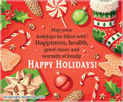 may your holidays be filled with happiness happy holidays cards