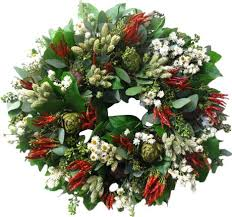 herb wreath from the garden 18 herb wreath reviews wayfair