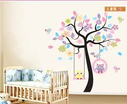 childrens tree wall art stickers wallartideas info tree childrens tree wall art stickers removable wallpaper large owls tree wall stickers for kids rooms