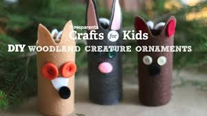 woodland creature ornaments holiday crafts for kids pbs
