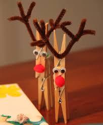 clothespin reindeer pinteres