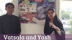 vatsala and yash varshney idea hunt competition poster