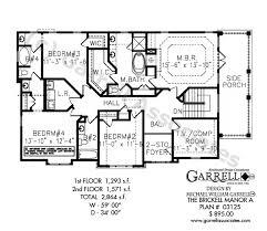 tudor mansion floor plans brickell manor a house plan plans by garrell associates inc jpg