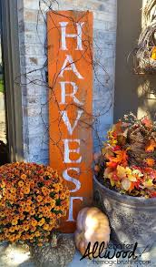 Fall Decorations For Outside The Home Best 25 Fall Wood Signs Ideas On Pinterest Fall Signs Fall
