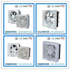 Bathroom Silent Extractor Fan Window Fan Timer Wireless Exhaust - Bathroom fan window