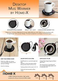 best coffee mug warmer amazon com home x mug warmer desktop heated coffee tea