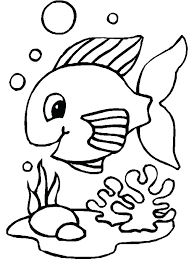 coloring pages about fish printable fish coloring pages www glocopro com