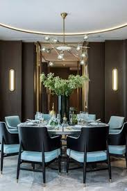 black glass top rectangle dining table modern dining room lighting