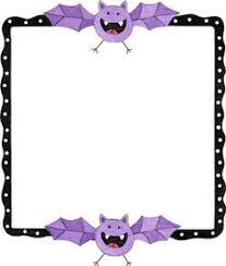a great halloween themed page border clip art library