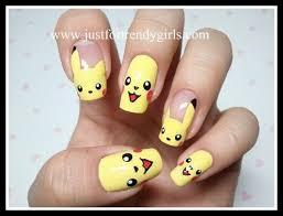 easy nail art characters nail arts cartoon character nail art designs