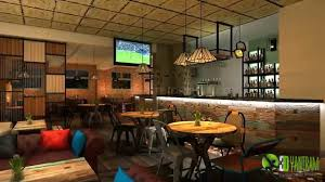 design for cafe bar 3d bar interior design and architectural walkthrough animation youtube