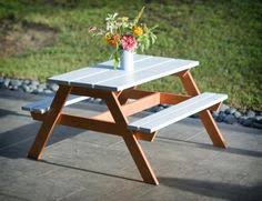 Ana White Preschool Picnic Table Diy Projects by