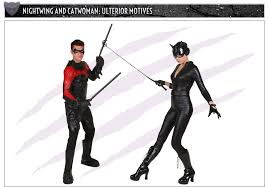 Halloween Costumes Nightwing Catwoman Costumes Halloweencostumes