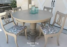 Chalk Paint Table And Chairs Table U0026 Chairs By The Rustic Pig Coco Chalk Paint Decorative