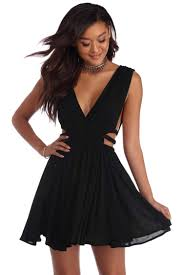 black cut out dress sale black cut out boho dress