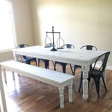 farm tables with benches mcnelly farmhouse dining tables and benches