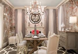 Glamorous Dining Rooms Glamour Modern Lighting Dining Room Design Ideas Over Long