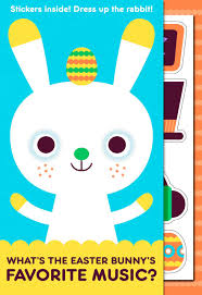 hip hop bunny joke kid u0027s easter card with stickers greeting