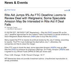 amazon black friday deals are lacking amazon isn u0027t buying rite aid rite aid corporation nyse rad