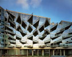 stylish balconies become integral parts of their building u0027s facade