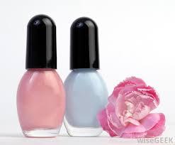 finger nail polish black and silver nail design for teenagers