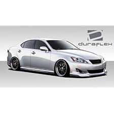 06 lexus is 250 amazon com fit for 06 13 lexus is250 is350 pu side skirt