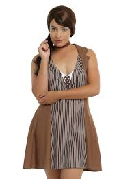doctor who tenth doctor cosplay dress plus size brown video