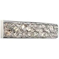 Shop Kichler Lighting Light Krystal Ice Chrome Crystal Bathroom - Bathroom lighting fixtures chrome