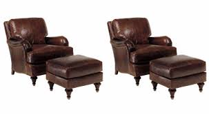Leather Accent Chair Of 2 Wesley
