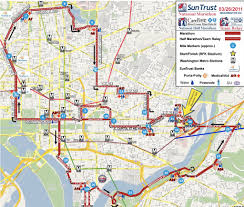Nyc Marathon Route Map Sports Park View D C
