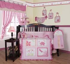 Nursery Bedding Sets For Girl by Geenny Girl Dragonfly 13pcs Crib Bedding Set