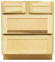 kitchen base cabinets with drawers kitchen drawer base cabinet unfinished poplar shaker style 30 in 4 drawer