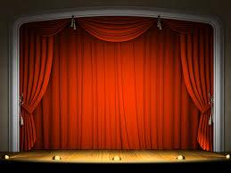Curtain Cartoon by