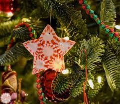 how to make peppermint ornaments an alli event