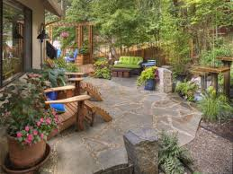 rustic backyard ideas country garden landscaping also 2017 back