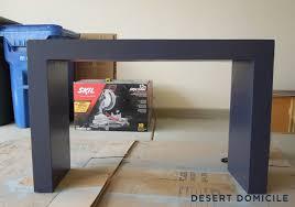 diy homegoods console table makeover desert domicile