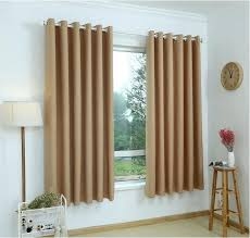 Brown Gold Curtains Brown Curtains For Bedroom Modern Linen Blackout Curtains For