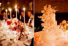 red wedding decor white wedding cake once wed