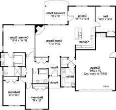 open floor plan blueprints open floor plans patio home plan house