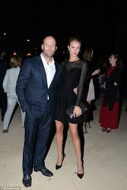 What To Wear To A Cocktail Party Male - rosie huntington whiteley and jason statham coordinate their