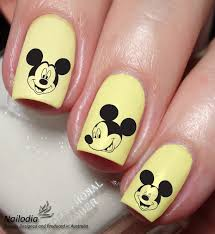 mickey mouse disney nail art sticker water transfer decal 74 from