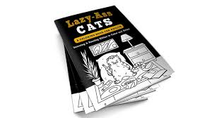 lazy cats a coloring book for adults by lindsay conner