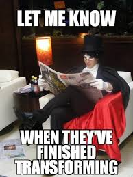 Tuxedo Meme - let me know when they ve finished transforming sailor moon