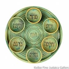 seder playe seder plates kolbo judaica gallery