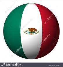 Mexico Flag Symbol Flags Mexican Flag Sphere Stock Illustration I2645914 At