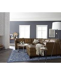 Leather Living Room Chair Martino Leather Sectional Living Room Furniture Collection