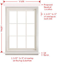 Blinds Outside Of Window Frame How To Measure Wood Blinds And Faux Wood Blinds Contract Levolor Com